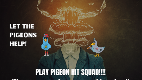 Go to pigeonhitsquad.com, available in both iOS and Android app stores!